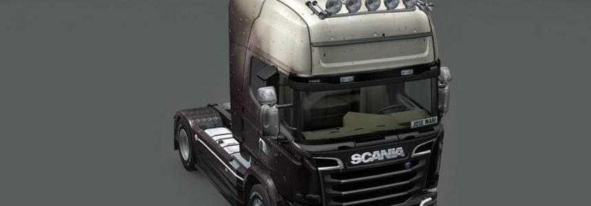 Scania Streamline Drops Skin