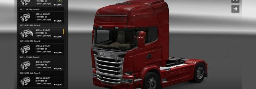 Scania Streamline Engine & Transmission