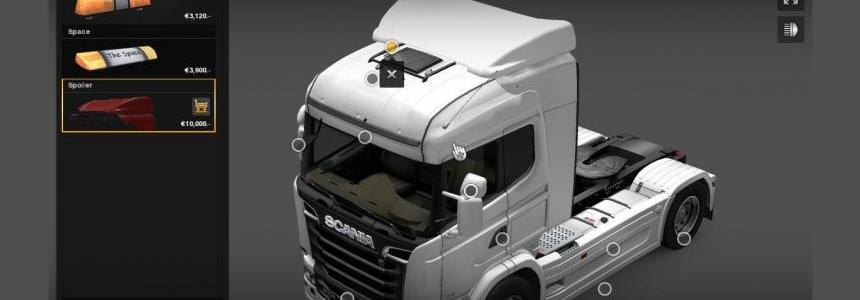 Scania Streamline Highline Spoiler