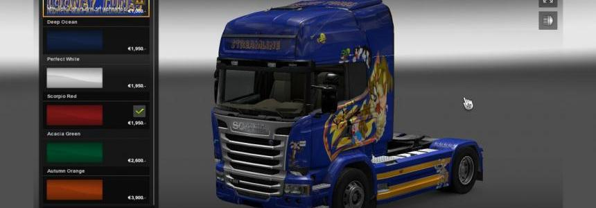 Scania Streamline Looney Tunes