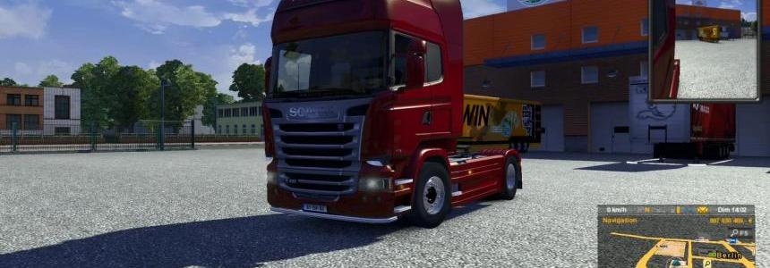 Scania Streamline open pipe sound