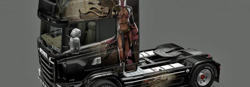 Scania Streamline - Skin Mileena