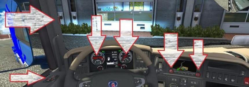 Scania Streamline Topline Interior v1.0