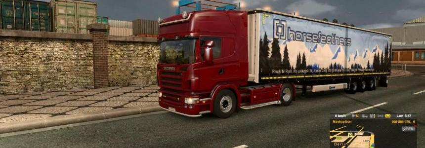 Scania Streamline V8 sound