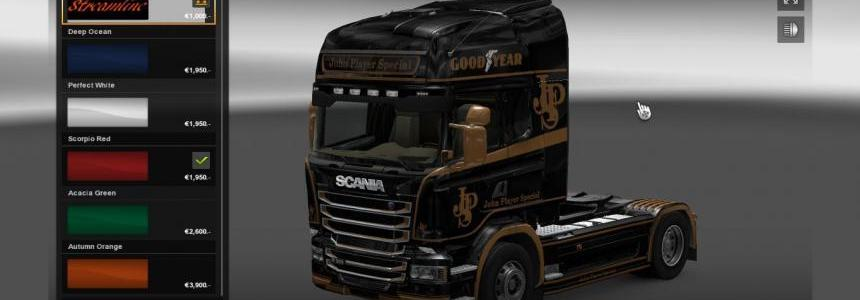 Scania Streamliner John Player Special