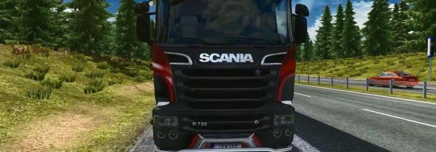 Scania V8 Exhaust Sound Mod v4.0