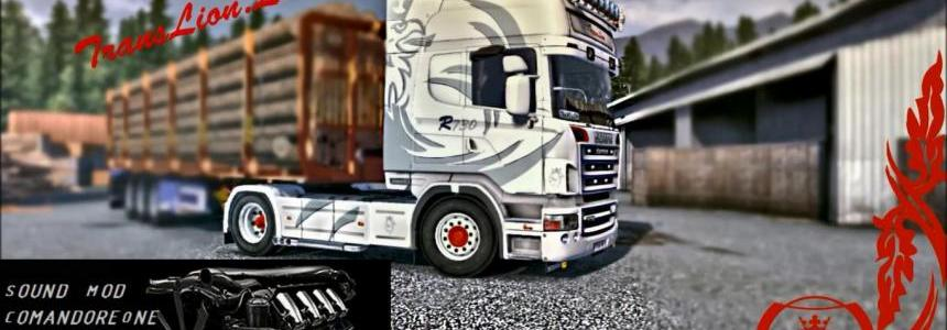 Scania V8 Real Engine Sound V2