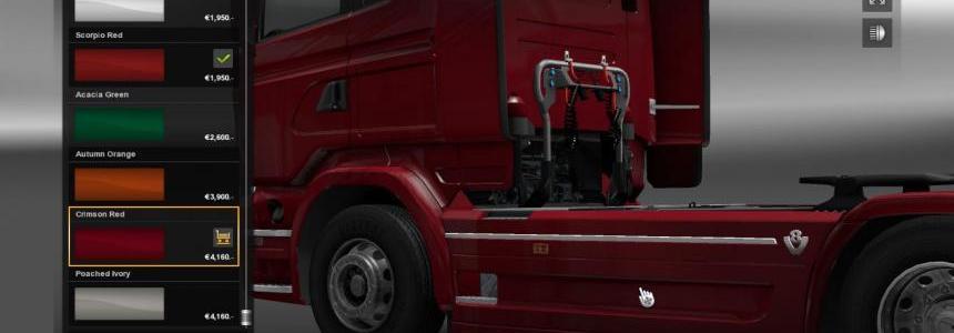 Scania V8 sideskirt V2