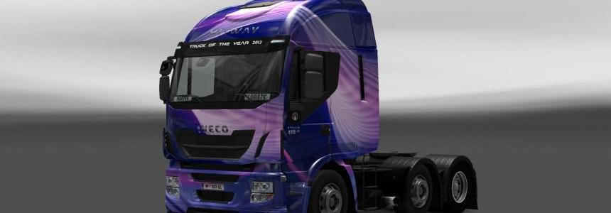 Skin Iveco Hi-Way Light Wave