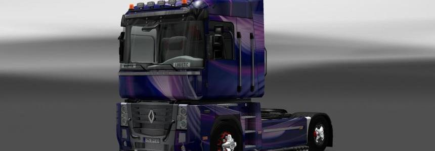 Skin Renault Magnum Light Wave