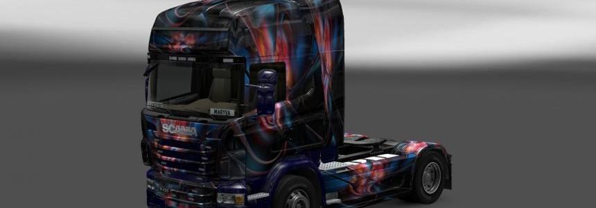 Skin Scania Glow