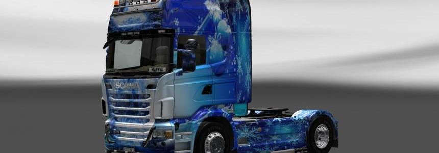 Skin Scania Merry Christmas