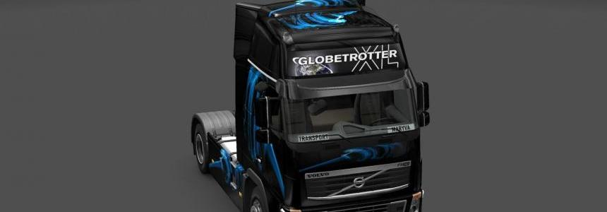 Skin Volvo FH16 Shadow Blue