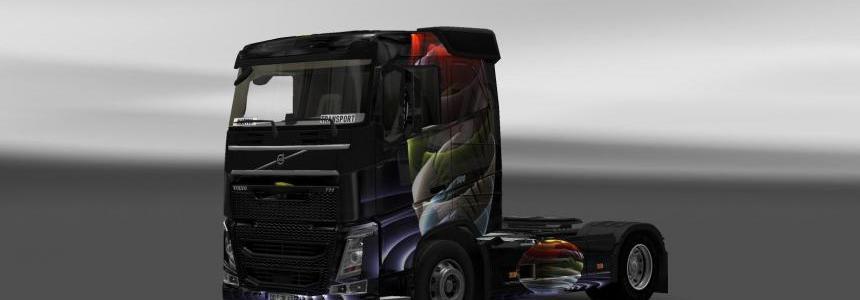 Skin Volvo Global 3D