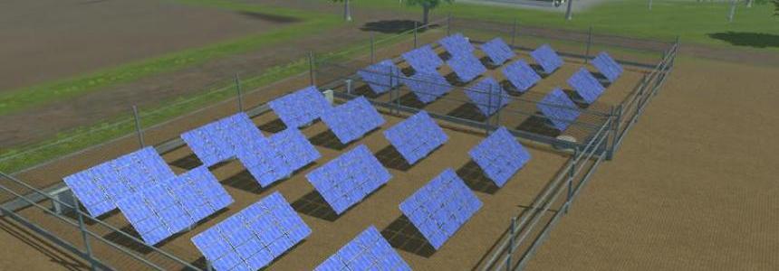 Solar power plant v1.0