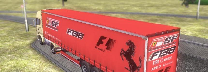 Trailer Scuderia Ferrari