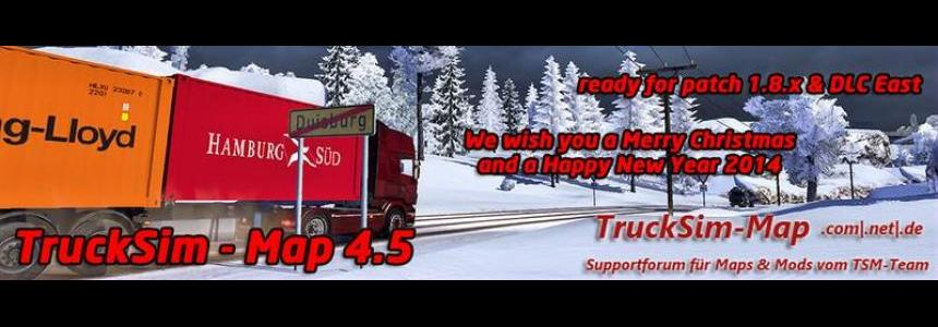 Trucksim Map v4.5.1