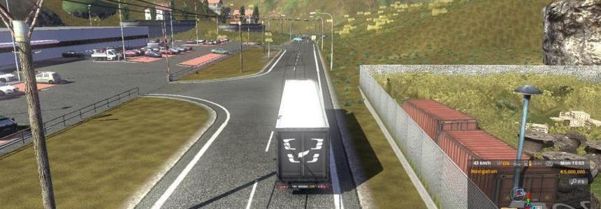 Trucksim Map v4.5.2