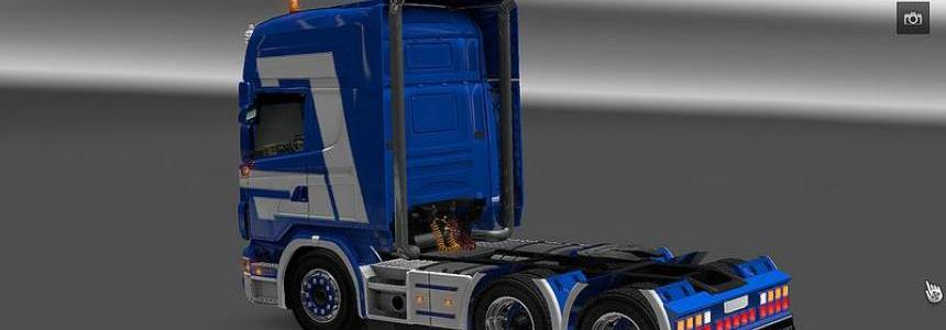 Tuned chasis for 50keda's Scania Update V2.0.5 fixed