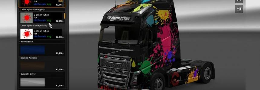 Volvo FH 2012 Color Splash skin
