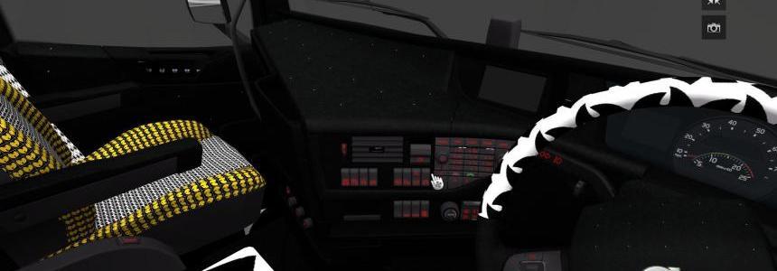 Volvo FH16 2013 Wu Tang interior
