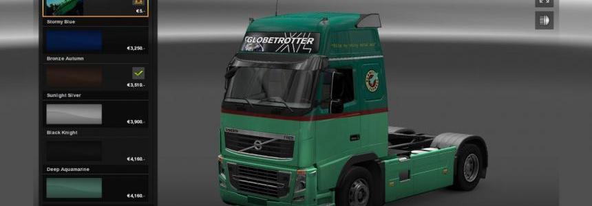 Volvo FH16 Classic Planet Express paintjob
