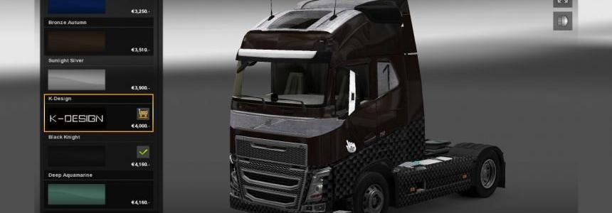 Volvo FH16 K Design Edition 1