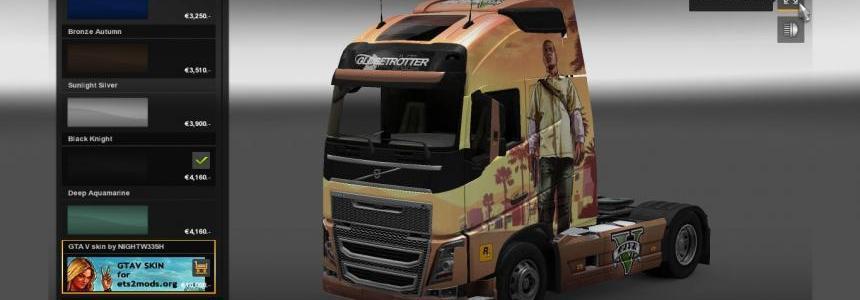 VOLVO Grand Theft Auto V Skin