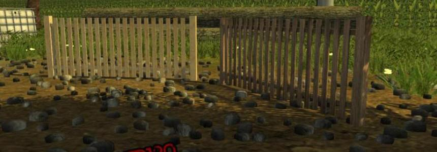 Wooden fence Pack v1