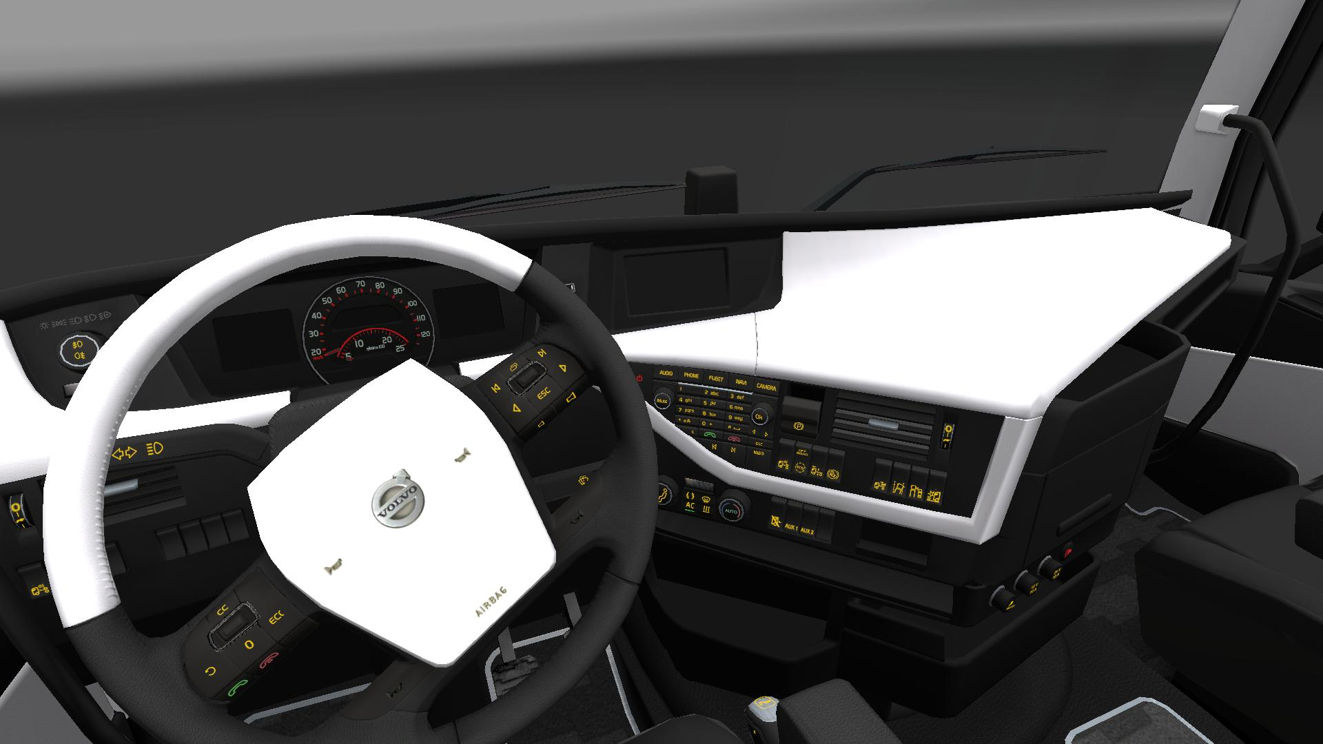 Volvo Fh16 Interior Edition v2.0 - Modhub.us