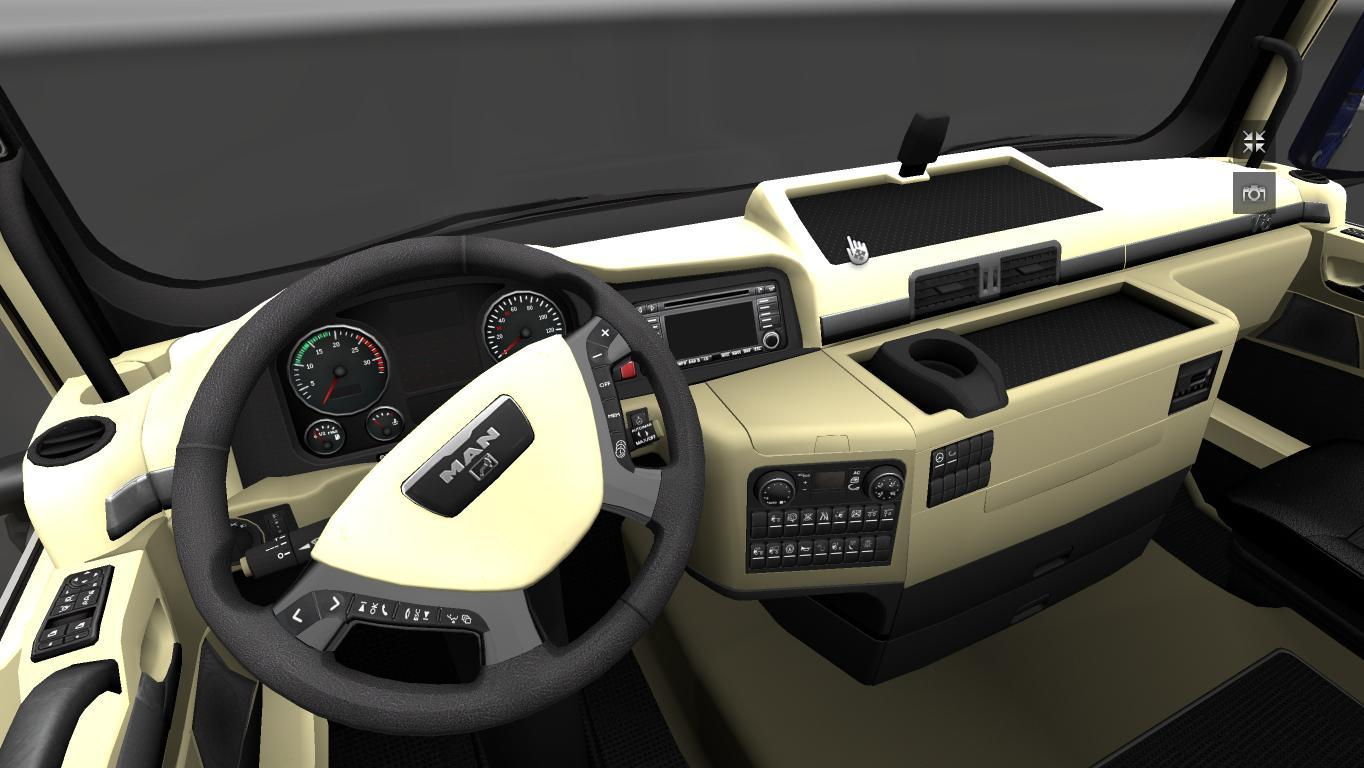MAN TGX Interior - Modhub us
