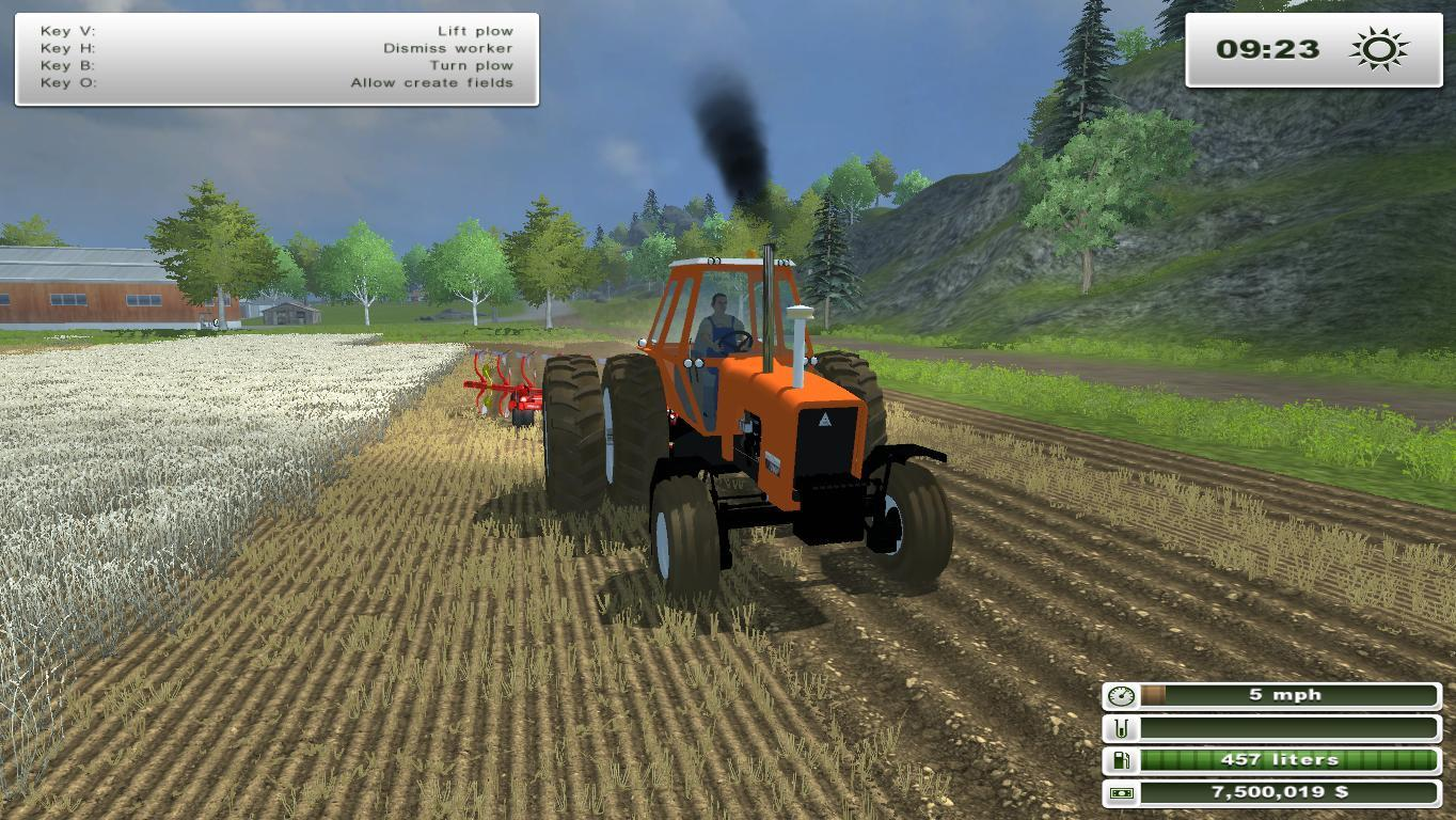 Allis Chalmers Tractor For Farming Simulator 2013 | Autos Post