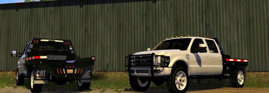 2010 Ford F-350 SRW with Hilsboro Flatbed