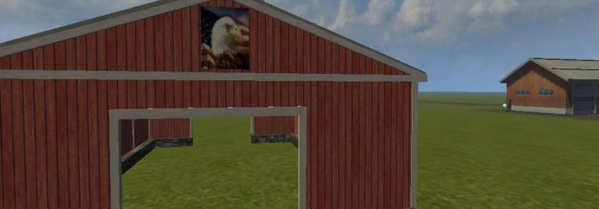 American Style open Barn