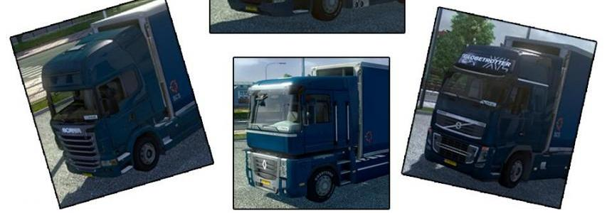 BDF Tandem Truck Pack v12 (11 Trucks NOW)
