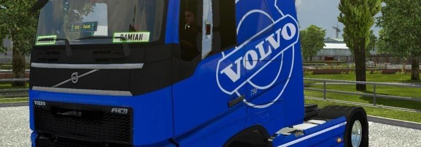 Blue Volvo FH 2012 Skin