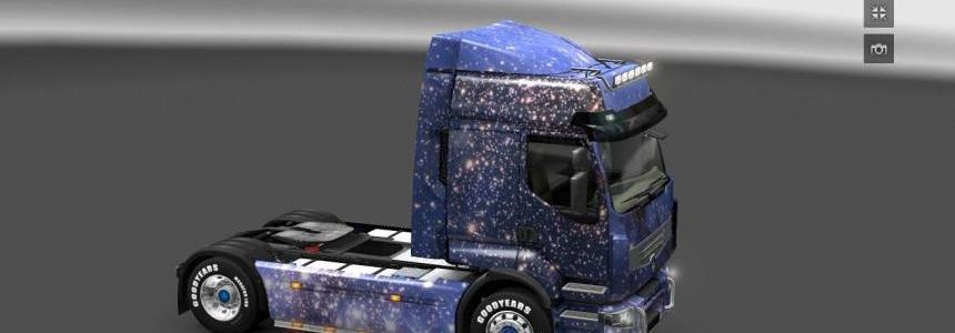 Cool Space Skin Pack – All Trucks