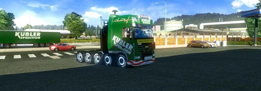 DAF skin Kubler Spedition