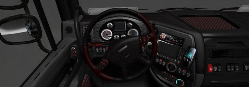 DAF XF interior heavy metal 1.0