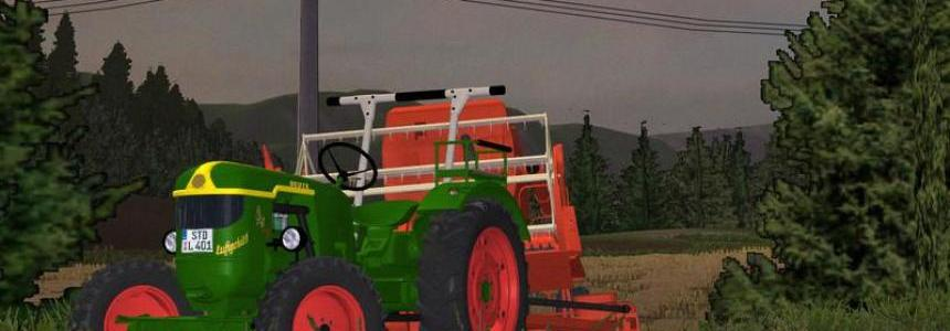 Deutz D40 rear wheel and all wheel drive v1.3 MR