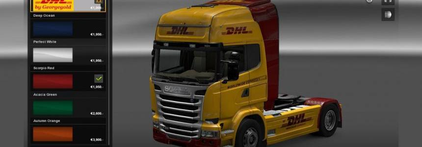 DHL skin Scania Streamline