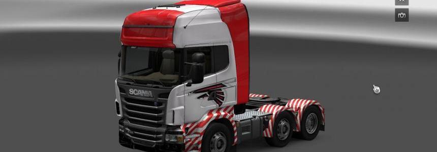 Eagle Power Scania R skin