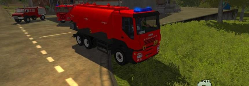 Fire department tankers v1.0 Beta