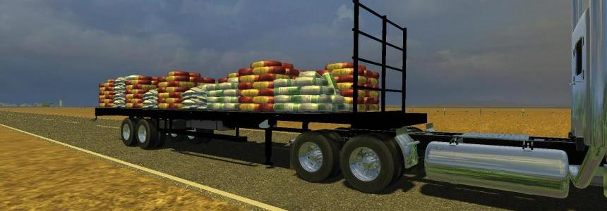Flatebed Refillable Seed Trailer beta