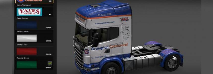 Grampian Continental Scania R Topline