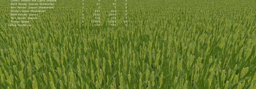 Green wheat texture v1.0