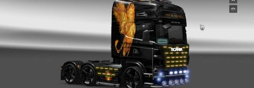 Griffin Scania R skin