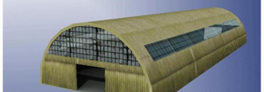 Hall of corrugated iron v1.0