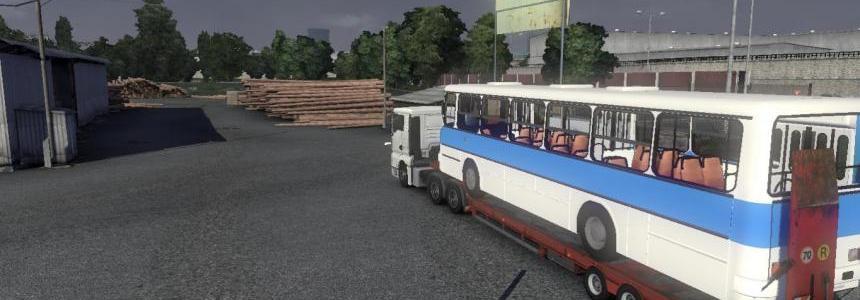 Ikarus 260 Tisza Volan trailer