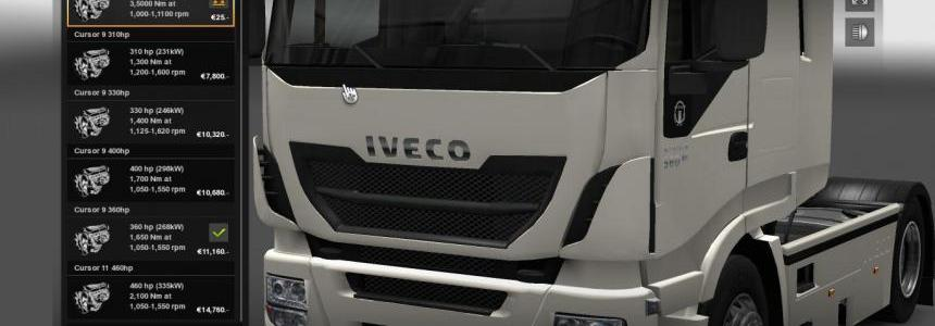Iveco Hi-Way 978 HP Engine